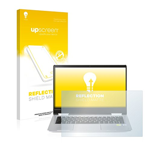 upscreen Entspiegelungs-Schutzfolie kompatibel mit Lenovo Yoga 710 14.0 – Anti-Reflex Displayschutz-Folie Matt