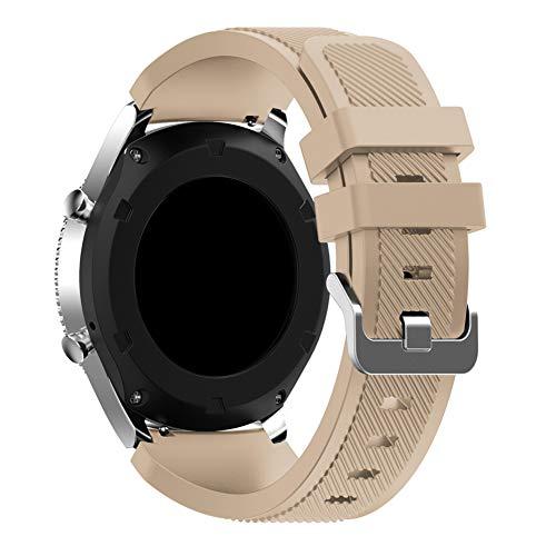 Ybghio - Correa de Silicona de Repuesto para Samsung Gear S3 Frontier/Classic