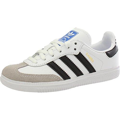 adidas Samba Og C Unisex Kids Fitness Shoes White Blanco 000 1 UK 33 EU