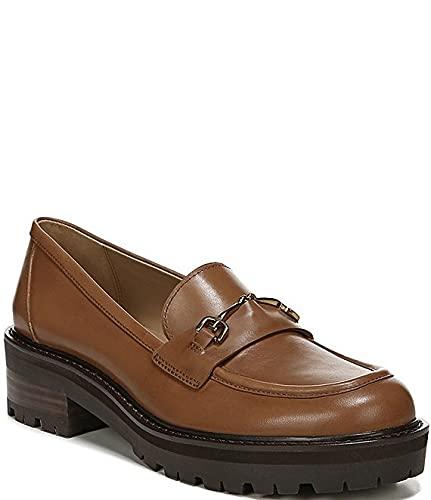 [サムエデルマン Sam Edelman] シューズ 26.5 cm スリッポン・ローファー Tully Leather Lug Sole Loafers Saddle レディース [並行輸入品]