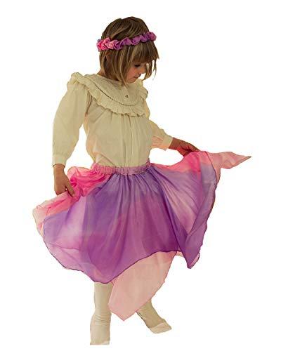 Reversible Silk Skirt (Pink & Lavender) - http://coolthings.us