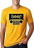Bigtige Logo de la bière | Voitures et camions parodient l'alcool | T-Shirt Graphique pour Hommes à Boire XXXL