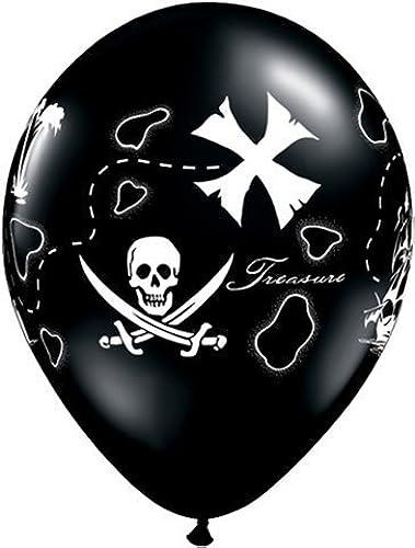 tiendas minoristas Pirate Party Pirate's Treasure Map 11 11 11  Qualatex Latex Balloons x 25 by Qualatex  mejor reputación