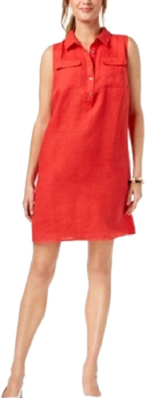 Charter Club Petite Linen Shift Dress