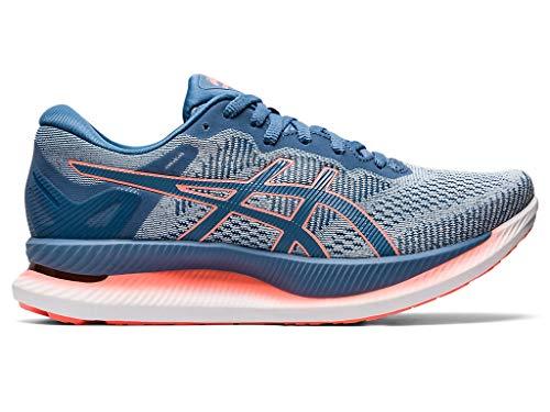 ASICS Women's GlideRide Running Shoes, 8M, Polar Shade/Grey Floss