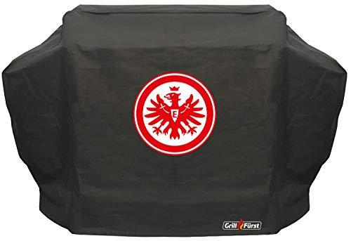 Grillfürst Grill Abdeckhaube/Schutzhülle - Eintracht Frankfurt Edition - 172 x 67 x 123 cm Broil King (Imperial, Regal, Crown), Napoleon (P500, Lex605), Outdoorchef (Dualchef), Weber Genesis II