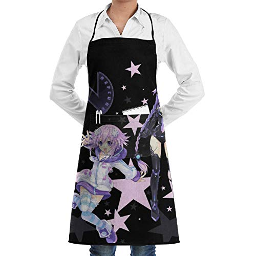 Not Applicable Planetune 'S Göttin Neptun Unisex Chef Koch Küche Schürze Langlebige Mode Schürzen Lätzchen mit Tasche für Restaurant Cafe Home Grill Grill Backen Garten Basteln Malen
