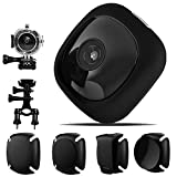 OnReal G1 Mini Spy Hidden Cam, 1080P WiFi Full HD Wireless Action Camera per Casco, Videocamera di...