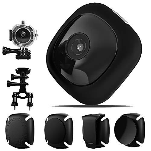 OnReal G1 Mini Spy Hidden Cam, 1080P WiFi Full HD Wireless Action Camera per Casco, Videocamera di Sicurezza con Audio, Videocamera indossabile con Clip per Telefono/iPad/PC/Auto/Bici/Drone