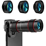 IEffulgent - 10X Zoom Telescope DSLR with Blur Background Effect Mobile Telescope Lens kit for Mobile and Android & iOS Devices for TikToker & You tubers Mobile Phone Lens