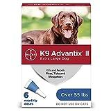 K9 Advantix II Flea and Tick Prevention for...