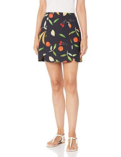 findersKEEPERS Women's Calypso Skirt, Black Fruitbowl, Large