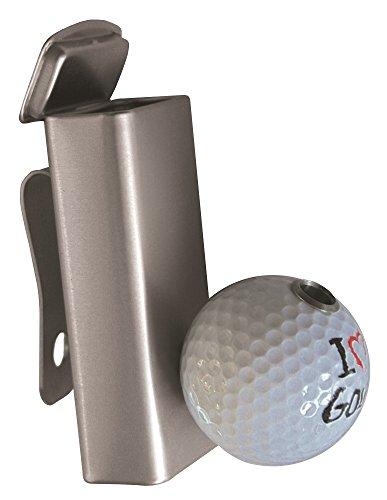 """Golf Aschenbecher Smoki Plus \"""" I LOVE GOLF \"""" praktischer Golfbag-Ascher mit Zigarettenhalter"""