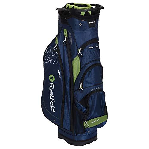 FASTFOLD Golf-Trolley Unisex Cart Bag – Navy blau/grün