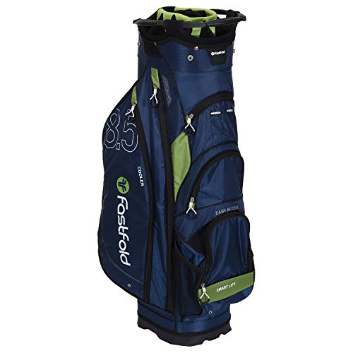 FASTFOLD Golf-Trolley Unisex Cart Bag – Navy blau/grün