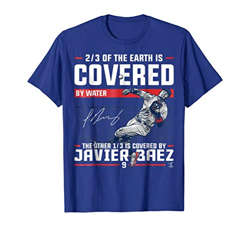 Javier Baez Covered By T-Shirt - Apparel