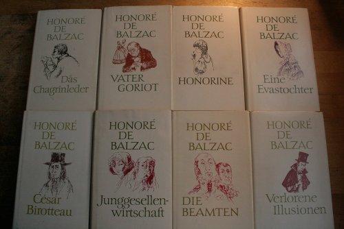 Die menschliche Komödie. Ausgabe in 22 Bänden. Herausgegeben von Fritz-Georg Voigt
