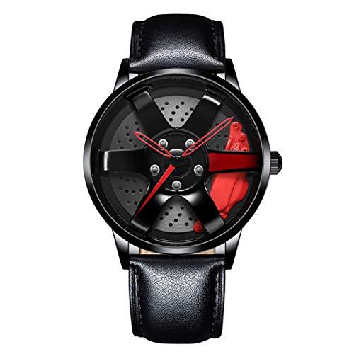 NEKTOM Women Men Unisex Armbanduhr Rim-Design aus Tungsten Steel Quarz Swiss Movement Analog 8215