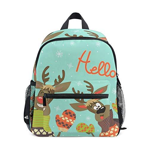 Mochila escolar para niños Hello Rene, ideal para la escuela o de viaje