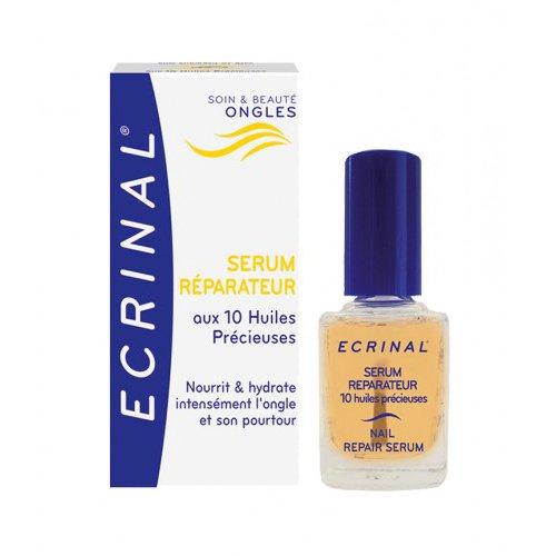 Ecrinal Repair Serum met 10 waardevolle oliën voor nagels, 0,34 ml vloeistof