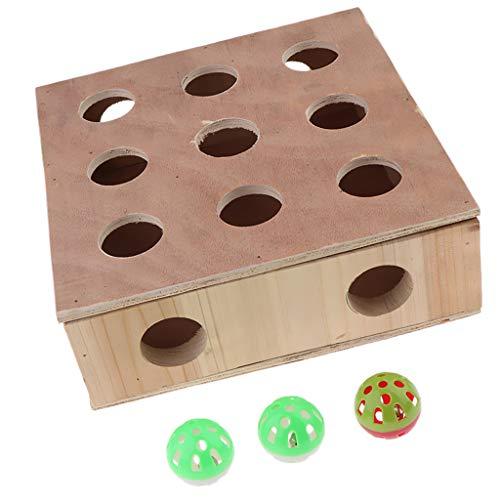 Baoblaze Mascotas Interactive & Play Cat Toy Box