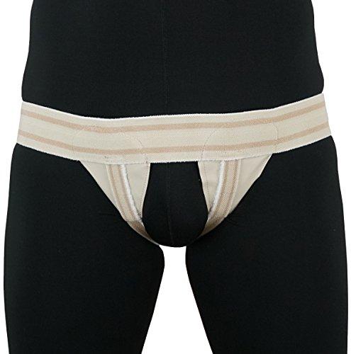 ORTONYX Inguinal Groin Hernia Truss Support Belt - Double Beige