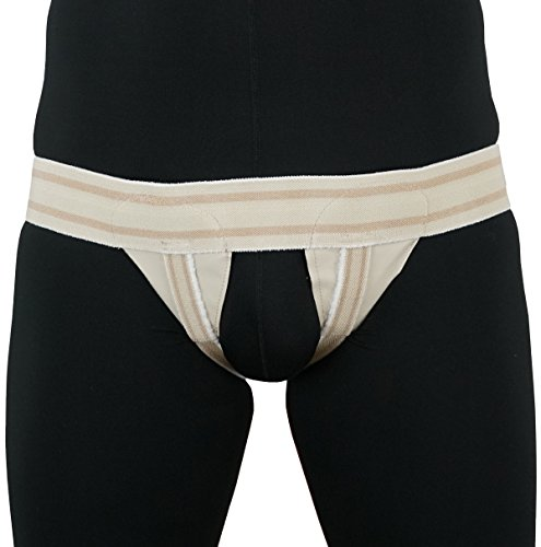 ORTONYX Inguinal Groin Hernia Guard Truss Support Belt - Double Beige