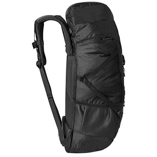 Mufubu Travel Backpacks for Hiking & Trekking - Presenting Fearless 60 Ltr Rucksack Luggage Travelling Backpack for Men & Women (Black)