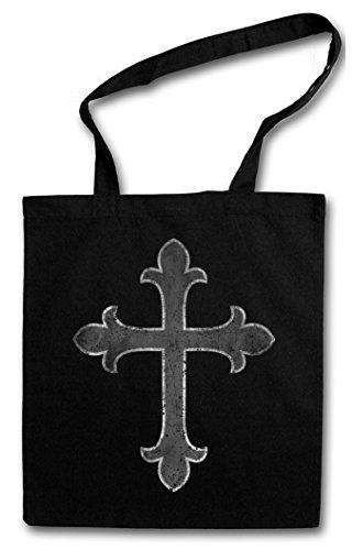 Christian Cross I Shopper Reusable Hipster Shopping Cotton Bag Einkauftasche Einkaufstasche Tasche Stoff Stofftasche Jutebeutel Beutel ? Jesus Christianity God Gott