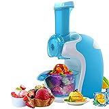 Ice Cream Makers LJ Máquina de Helados, Máquina de Yogurt congelado, Heladera, Maquina de Helado, Máquina para postres de Frutas heladas, Helados Sanos, Fácil de operar