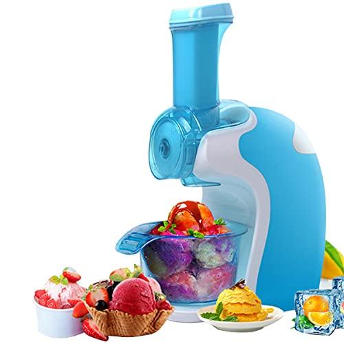Speiseeisbereiter LJ Eismaschine Perfect Mix, Frucht Eiscrememaschine Eismaschine für Gefrorene Früchte, Ice Maker, Sorbet und EIS fettfrei-kalorienarm-milchfrei-aus Früchten