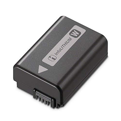 Sony NP-FW50 W-Serie Lithium Akku passend für Alpha und NEX Kameras (A7RM2, A7SM2, A7M2, A7R, A7S, A7, A6000, A6400, A6300, A6100, A5100, NEX ) schwarz