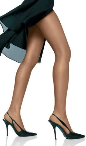Hanes Silk Reflections Women's Plus-Size Control Top Enhanced Toe Pantyhose