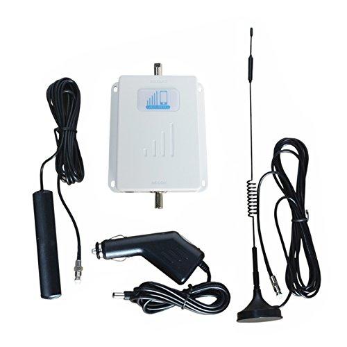 Car Signal Boosters 4G LTE Verizon Cell Phone Signal Booster HJCINTL FDD 700MHz Band13 High Gain Mobile Phone Signal Booster Amplifier for Car, RV, Truck, Vehicles