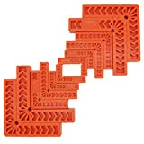 """Positioning Squares, Right Angle Clamp, AOWOSA 90 Degree Corner Clamp, Woodworking Tool for Picture Frames, Boxes, Cabinets or Drawers, Carpenter Tool, 12 PCS(3"""" 4"""" 6"""")"""