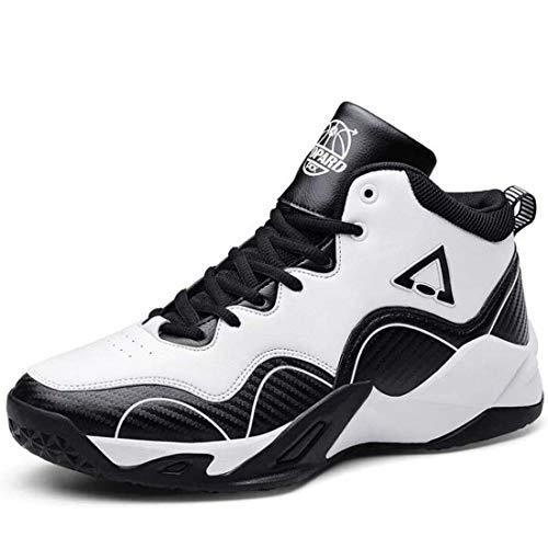 Yuyudou sportschoenen voor heren, Basketbalschoenen voor hoog elastisch lichtgewicht, casual hardloopschoenen voor dagelijks wandelen buiten fitness