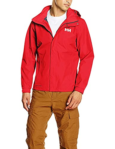 Helly Hansen Dubliner Jacket Giacca, Uomo, Flag Red, L