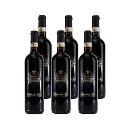 Italienischer Rotwein Predella Brunello Di Montalcino DOCG (6 x 0,75L)