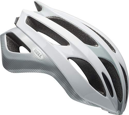 Bell Falcon MIPS Adult Bike Helmet - Stride Matte/Gloss White/Smoke - Small (52–56 cm)