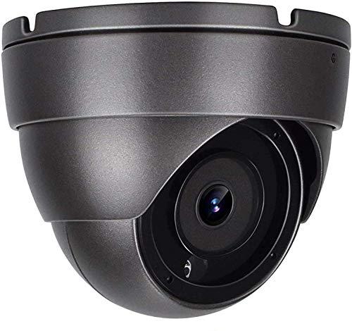 Anpviz Telecamera IP Poe CCTV con audio unidirezionale, 5 MP IR Dome Telecamera IP di sicurezza domestica con obiettivo grandangolare 2,8 mm, resistente alle intemperie IP66 telecamera ONVIF