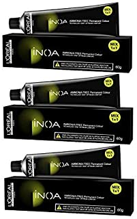 L'Oreal Professionnel Inoa Hair Colour No 3 Dark Brown (60g) - Pack of 3