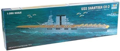 orden ahora con gran descuento y entrega gratuita Trumpeter 1 350 USS Saratoga CV3 Aircraft Aircraft Aircraft Carrier Model Kit by Trumpeter  Todos los productos obtienen hasta un 34% de descuento.