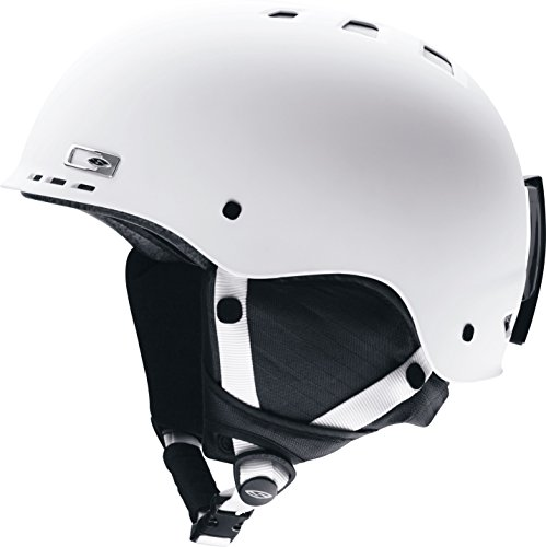 Smith Optics Unisex Adult Holt Snow Sports Helmet - Matte White XLarge (63-67CM)
