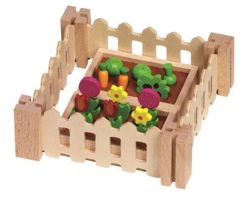 Goki- Juegos de acción y reflejosJuegos de miniaturasGOKIAccesorios, mi pequeño jardín, para Las Casas de muñecas, Multicolor (51729)