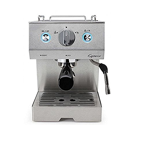 Capresso 125.05 Cafe Pro Espresso Maker, Silver (Renewed)