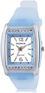 JINN-Women's Watches - Precision Simple Ladies Quartz Watch Elegant Women Quartz Watches PU Strap 100M Waterproof Ladies R...