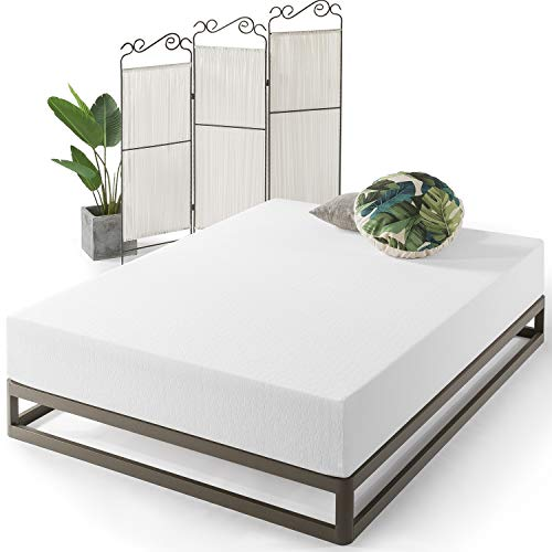 Best Price Mattress Twin Mattress - 12 Inch Air Flow Memory Foam Bed Mattresses Infused with Green Tea, Twin Size