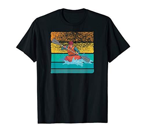 KAJAK KANU RAFTING PADDEL BOOT Wassersport raftingboot KAYAK T-Shirt