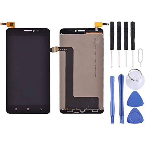 Mobile Phone Accessories Replacement LCD Screen+Touch Screen and Digitizer Full Assembly for Lenovo S850 / S850T(Black) (Color : Black)