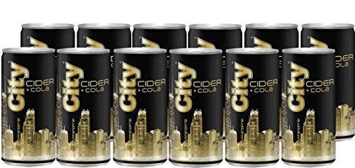 City Apple Cider + Cola, 12 x 0,2 l